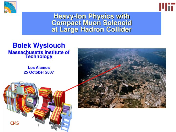 heavy ion physics with compact muon solenoid at large hadron collider n.