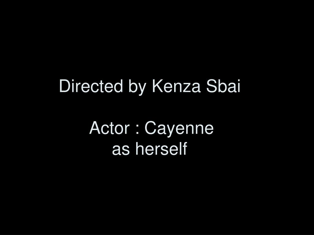 Directed by Kenza Sbai