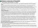 french language offshoring call centers administrative or it bpo