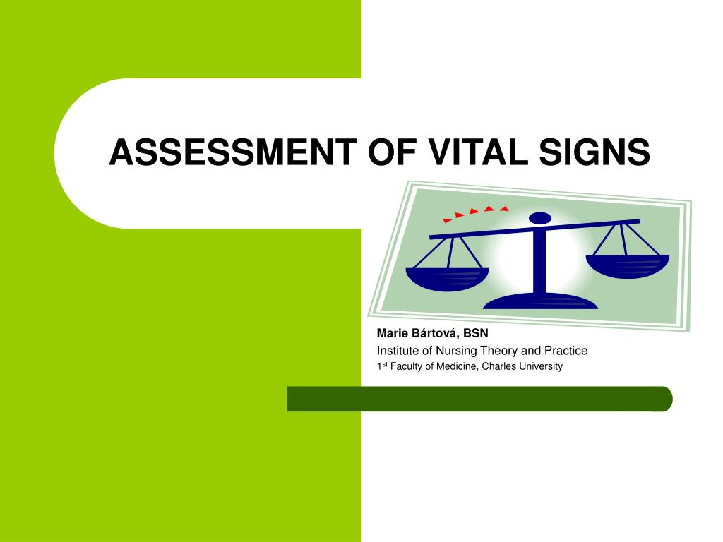 PPT - ASSESS MENT OF VITAL SIGNS PowerPoint Presentation