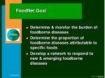 foodnet goal