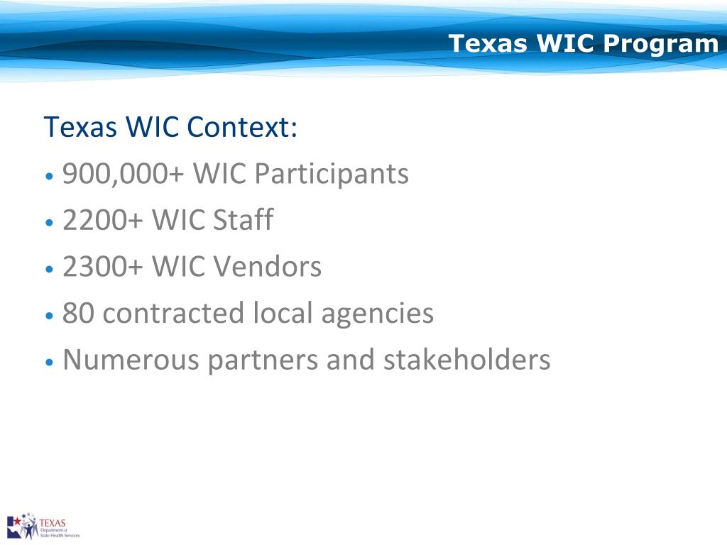 Texas WIC Program
