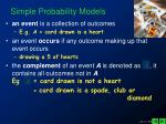 simple probability models1