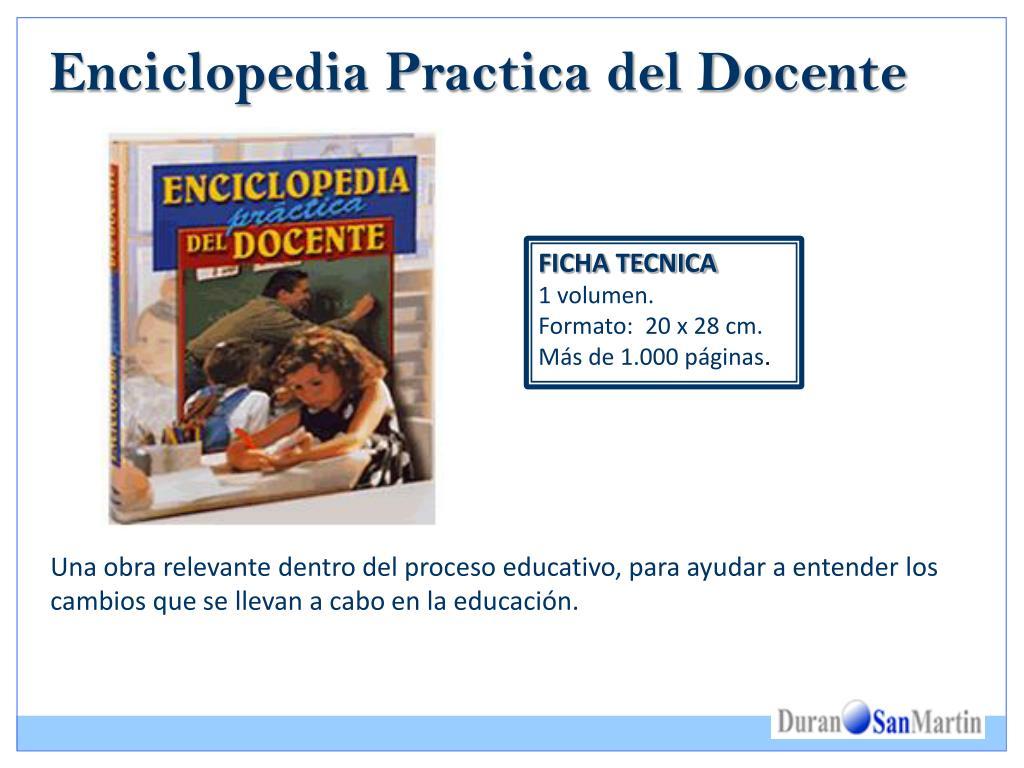 Enciclopedia Practica del Docente