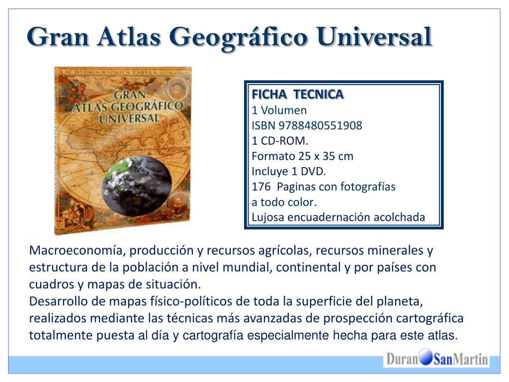 Gran Atlas Geográfico Universal