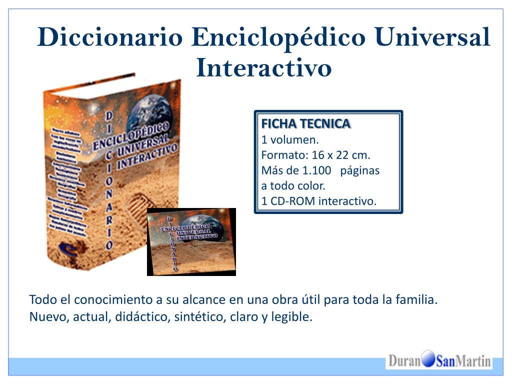 Diccionario Enciclopédico Universal Interactivo