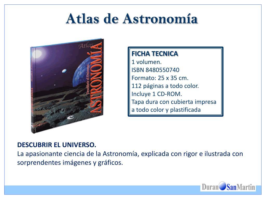 Atlas de Astronomía