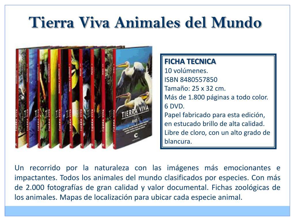 Tierra Viva Animales del Mundo
