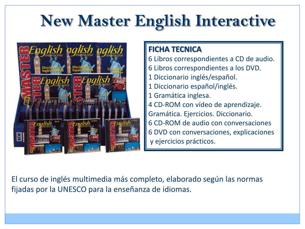 New Master English Interactive