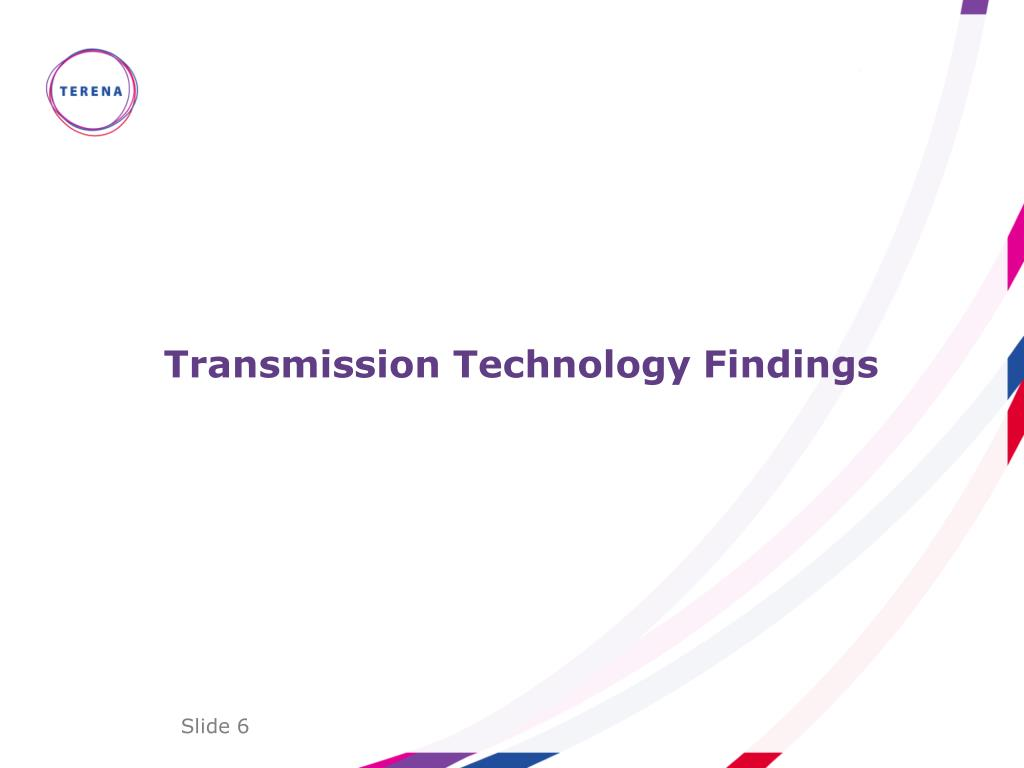Transmission Technology Findings