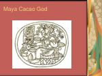 maya cacao god