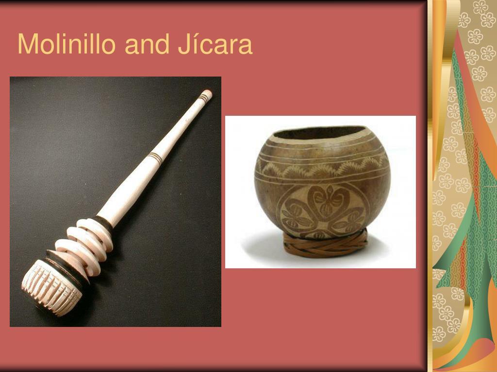 Molinillo and Jícara