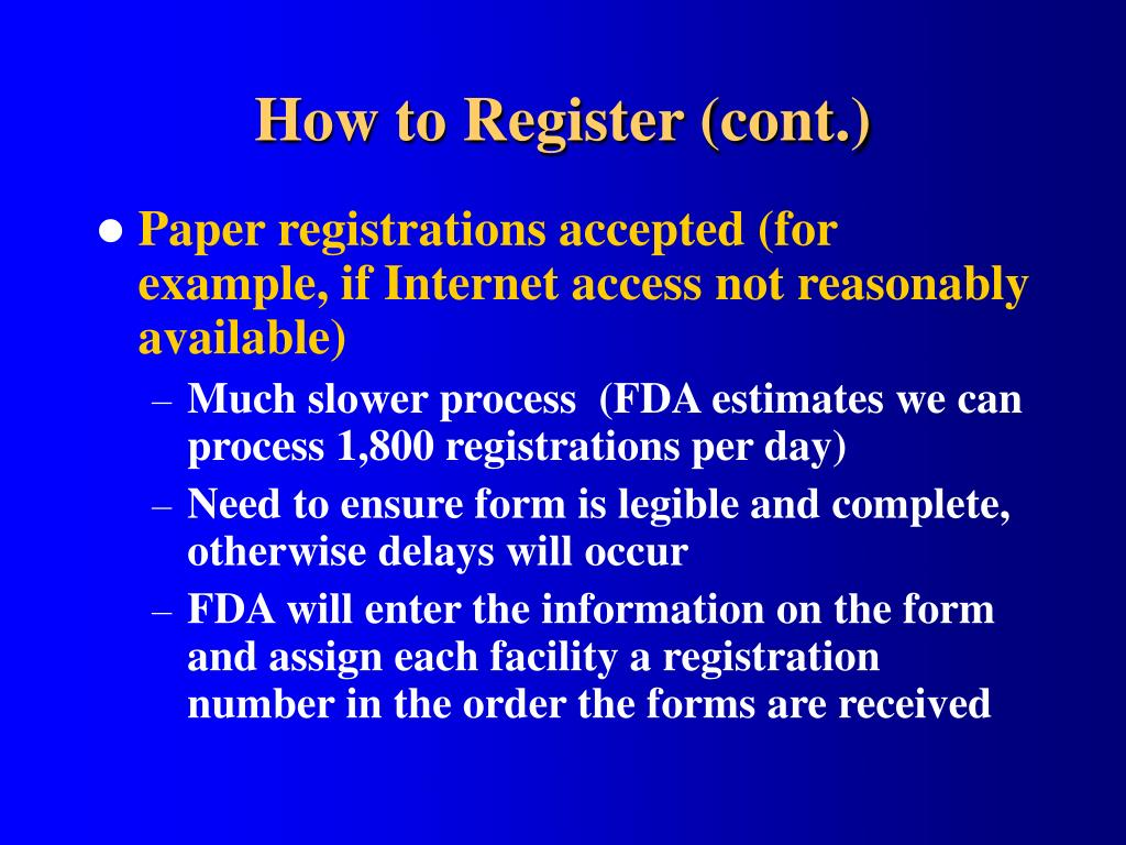 How to Register (cont.)