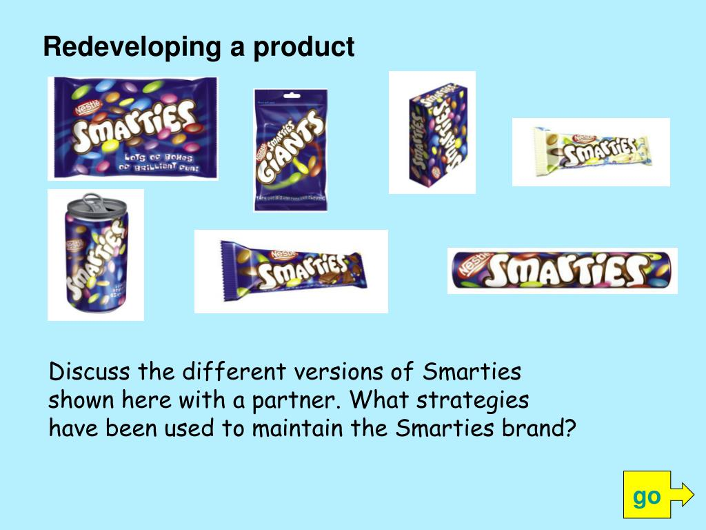 Redeveloping a product