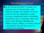 the himalayan trust