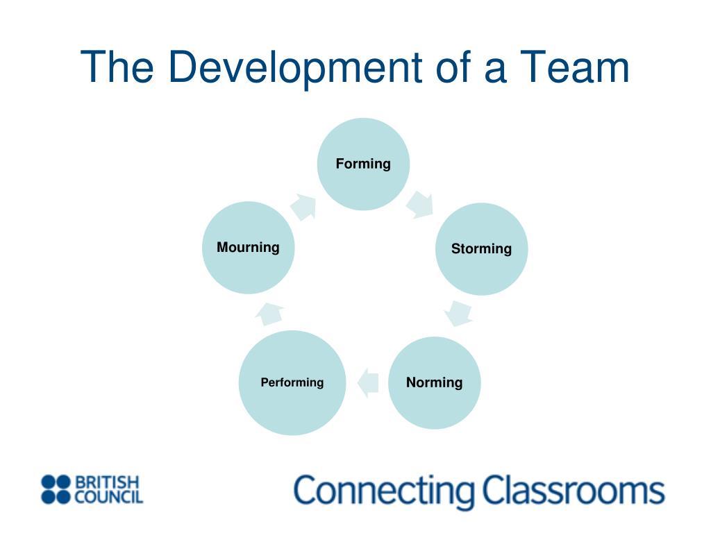 The Development of a Team