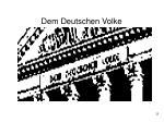 dem deutschen volke25