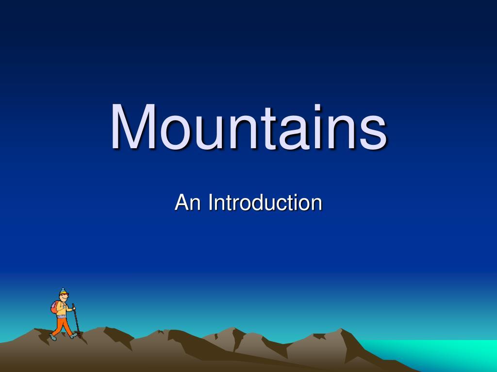 mountains l.