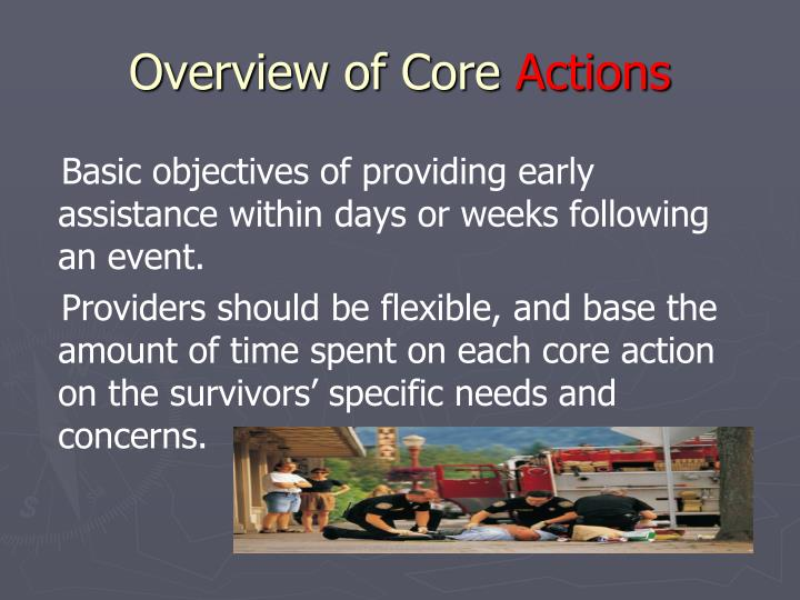 Overview of Core