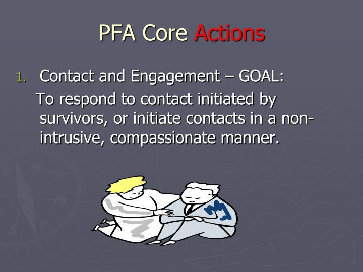 PFA Core