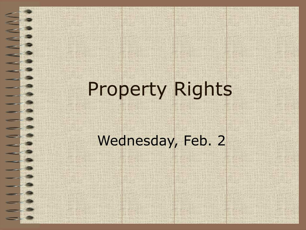 property rights l.