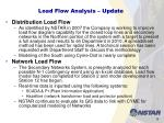 load flow analysis update