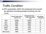 traffic condition