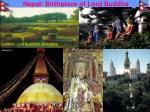 nepal birthplace of lord buddha