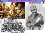 people of nepal gorkhas