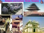 religion and culture hindu temples