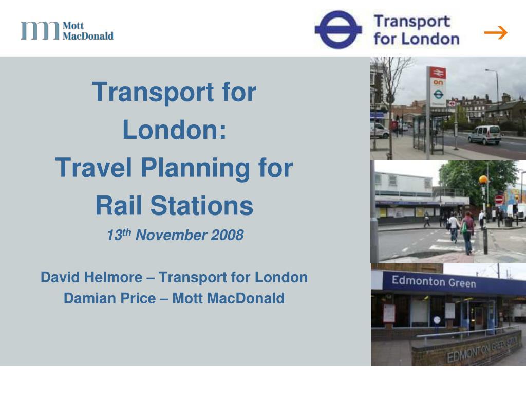 Transport for London: