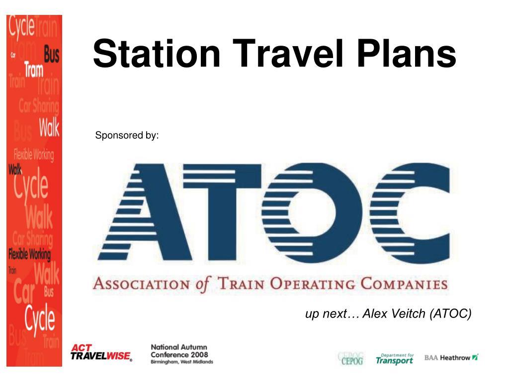 Station Travel Plans