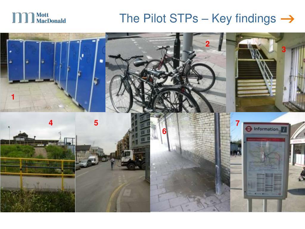 The Pilot STPs – Key findings
