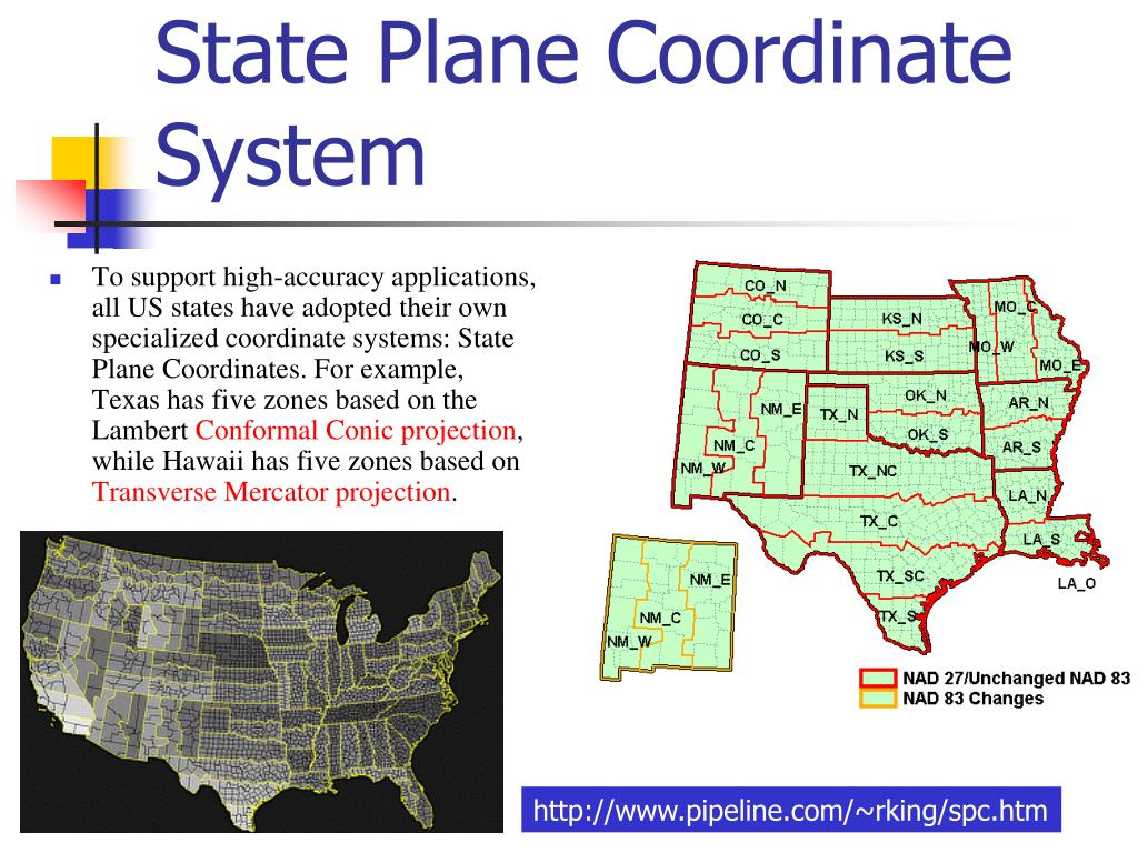 PPT - Topic 1: Geospatial Basics Ellipsoid and Datum ... Colorado State Plane Coordinate System Map on plane travel on map, colorado state plane zones, colorado geography map, state plane zone map, missouri state plane coordinates map, colorado scale map, planar map, colorado utm zone map, oklahoma state parks map, plano texas map, rectangular survey system map,