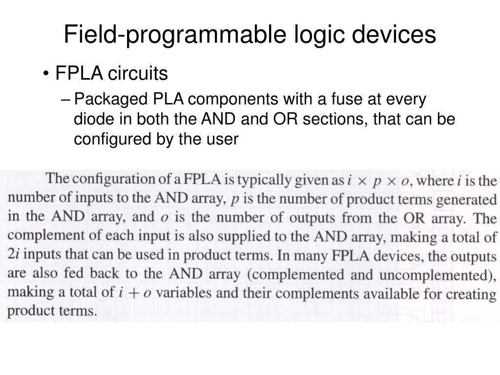 Ppt Field Programmable Logic Devices Powerpoint Presentation Id Diode Circuits L