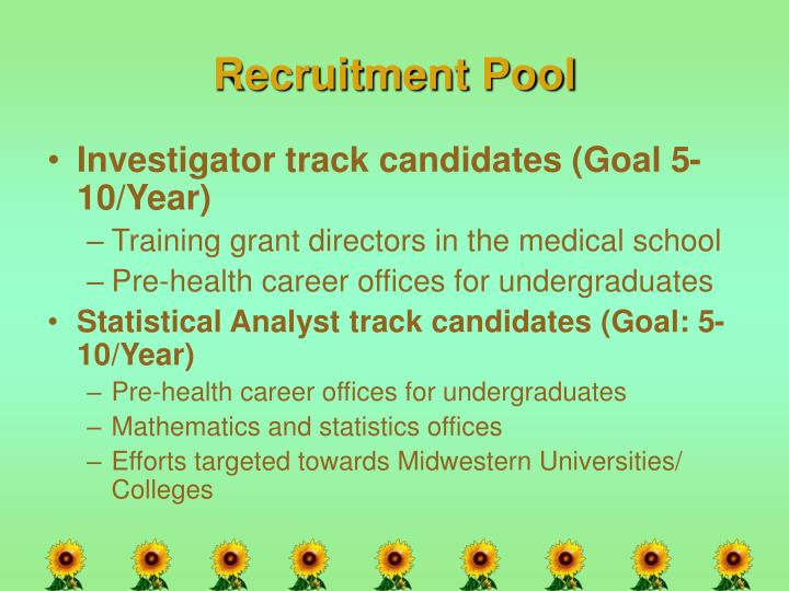 Recruitment Pool
