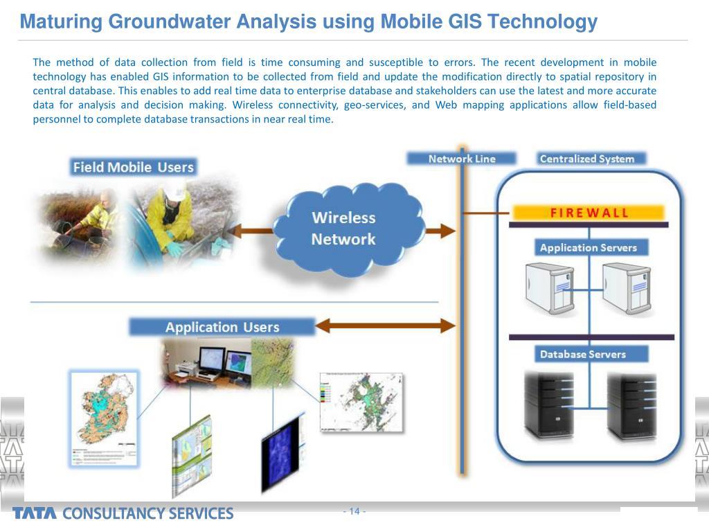 Maturing Groundwater Analysis using Mobile GIS Technology