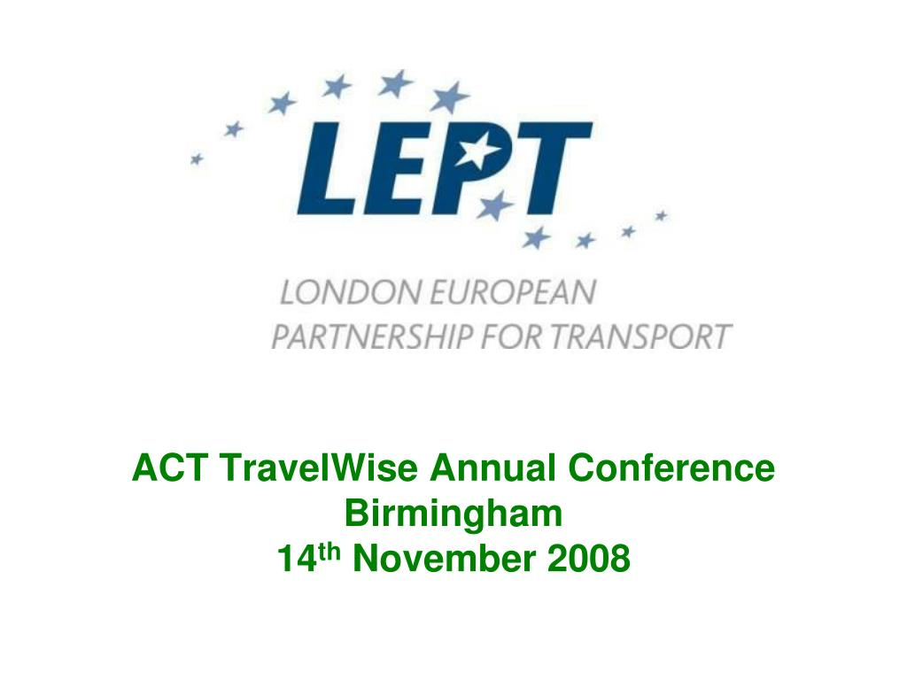 ACT TravelWise Annual Conference