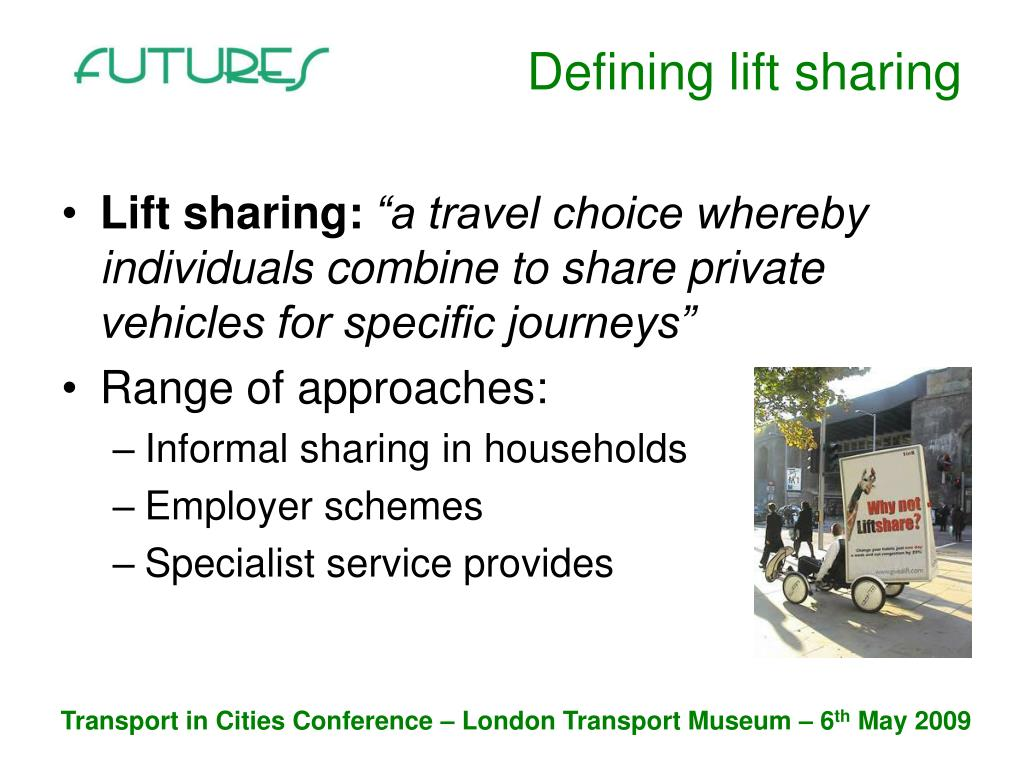 Defining lift sharing