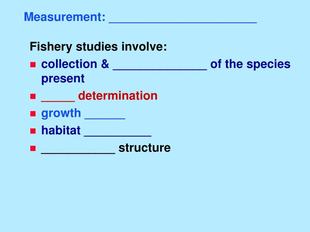 Measurement: ______________________