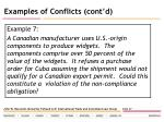 examples of conflicts cont d28