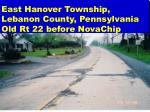 east hanover township lebanon county pennsylvania old rt 22 before novachip