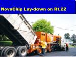 novachip lay down on rt 22