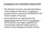 changes in fisheries industry20