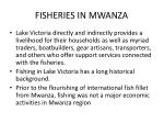 fisheries in mwanza