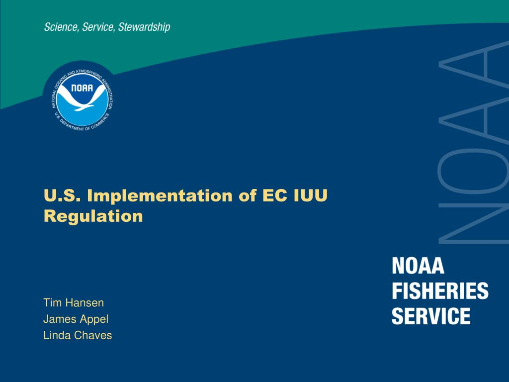 u s implementation of ec iuu regulation l.