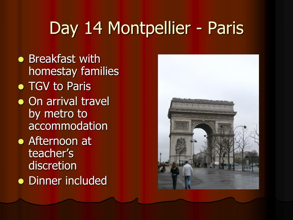 Day 14 Montpellier - Paris
