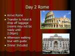 day 2 rome