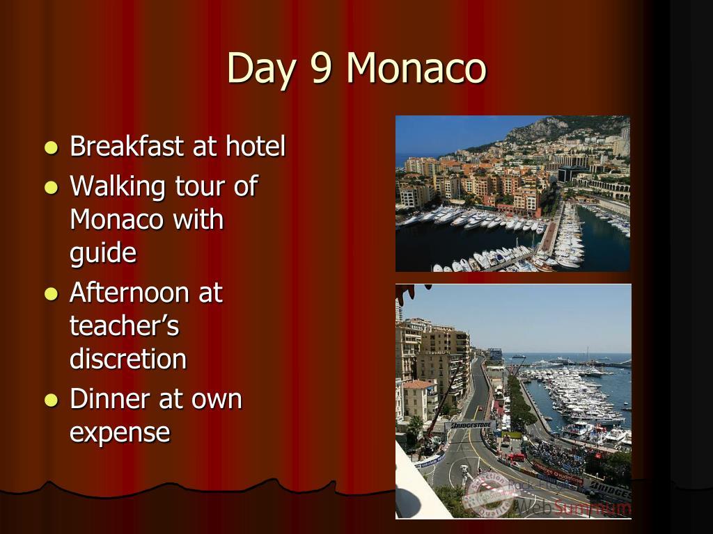 Day 9 Monaco