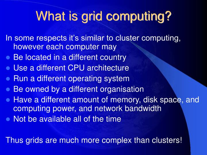 What is grid computing3